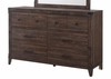 Richmond 6 Drawer Dresser With Felt Lined Top Drawers