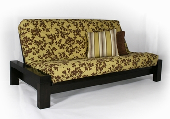 Rockwell Full size Futon Frame Wall Hugger made in USA DC furniture