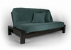Rockwell Queen size Futon Frame Wall Hugger made in USA DC furniture