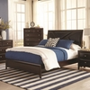 Rossville Queen Bed with Upholstered Headboard