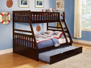 Rowe Twin/Full Bunk bed with Trundle