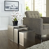RUSH NESTING 286 TABLE IN SILVER