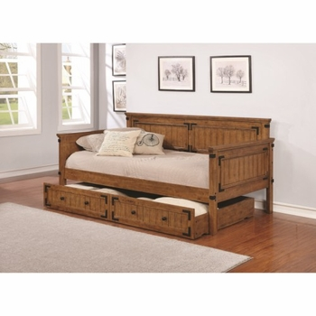 Rustic Daybed with Trundle