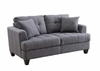 Samuel Sofa Loveseat with Tufted Cushions