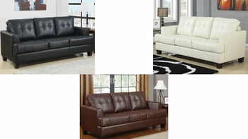 Samuel PU Sofa Sleeper 501690