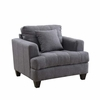 Samuel Sofa Upholstered Chair with Tufted Cushions