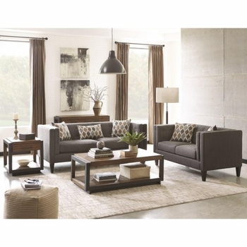 Sawyer Modern Sofa with Track Arms by Scott Living