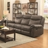 Sawyer Motion Sofa with Pillow Arms and Outlet 602331