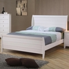 Selena Full Sleigh Bed with Panel Detail