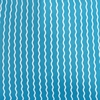 Serpentine Stripe Cerulean futon cover