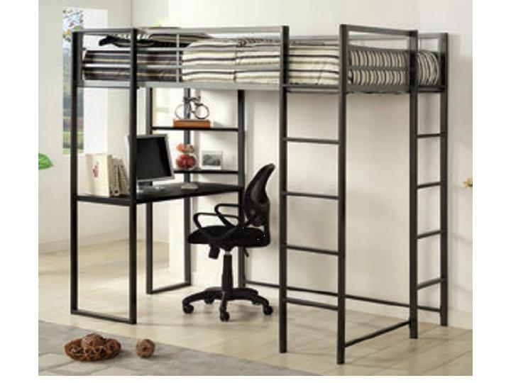 Sherman Twin Loft Bed Without Chair