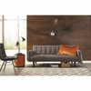 Skyler Modern Sofa Bed with Button Tufting by Scott Living