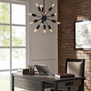 SPECTRUM METAL CHANDELIER IN BLACK