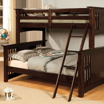 Spring Creek Twin/Full Bunk bed BK602F