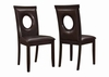 Stapleton Dining Chair with Circular Cut-out Seat Back