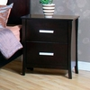Stuart Contemporary 2 Drawer Nightstand