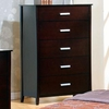 Stuart Contemporary 5 Drawer Chest