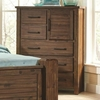Sutter Creek 204534 Chest with Door & Wire Brushed Acacia Veneer