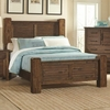 Sutter Creek 204531Q Queen Bed with Block Posts