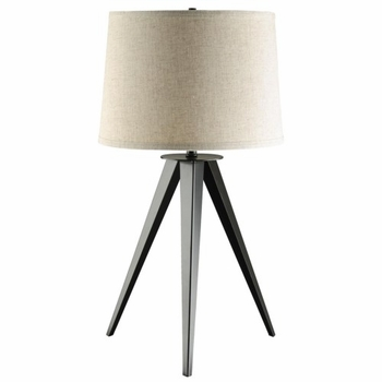 Table Lamp with Three-Leg Base