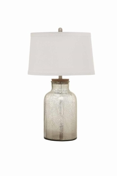 Table Lamps Clear Glass Bottle Lamp