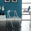 Telescope Folding Chair in Clear