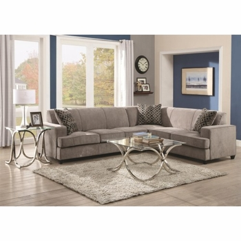 Tess Sectional 500727 Sofa Bed for Corners