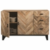 Thompson Rustic Server with Chevron Inlay Pattern by Scott Living