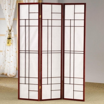 Three Panel Folding Floor Screen 900110