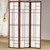 Three Panel Folding Floor Screen
