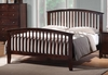 Tia King Headboard & Footboard Bed with Tapered Legs