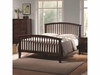 Tia 202081q Queen Headboard & Footboard Bed with Tapered Legs