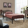 TOWNHOUSE TWIN BED IN BLACK