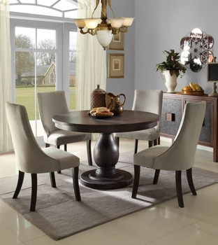 Traditional 5PCS Dandelion Dining Room Set