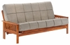 Loveseat Full bed Trinity Moonglider Front Operating Full Lounger Size Futon Frame