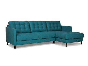 Tufted back sectional VA furniture stores # 46037