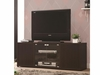 Rectangular TV Console With Magnetic-Push Doors # 700886