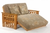 Loveseat Full bed Twilight Moonglider Front Operating Full Lounger Size Futon Frame