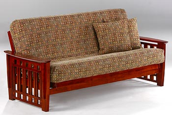 Twilight Moonglider Front Operating Full Size Futon Frame / 10 Year Warranty