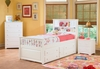 Twin Captain�s Bed Bookcase with Four Drawers Storage Youth Furniture