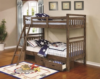 Twin/Twin Bunk Bed Malcolm Youth collection