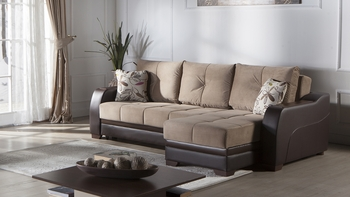 Ultra Sectional Queen Size Sleeper/ Storage