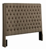 Upholstered Beds Upholstered King Headboard with Diamond Tufting