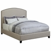 Upholstered California King Bed with Nailhead Trim # 301092KW