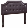 Upholstered Full/Queen Headboard with Button Tufting