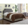 Upholstered King/California King Headboard with Button Tufting