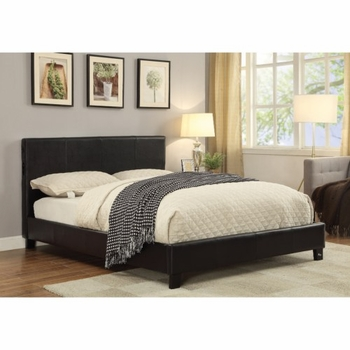 Upholstered Queen Bed with Bluetooth Speakers # 300751Q