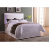 Upholstered Queen/Full Headboard with LED Lights # 300603QF