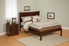 Urban Style Open Foot Rail Beds and Open Foot Rail Bedroom Sets Section