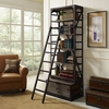 VELOCITY WOOD BOOKSHELF IN BROWN